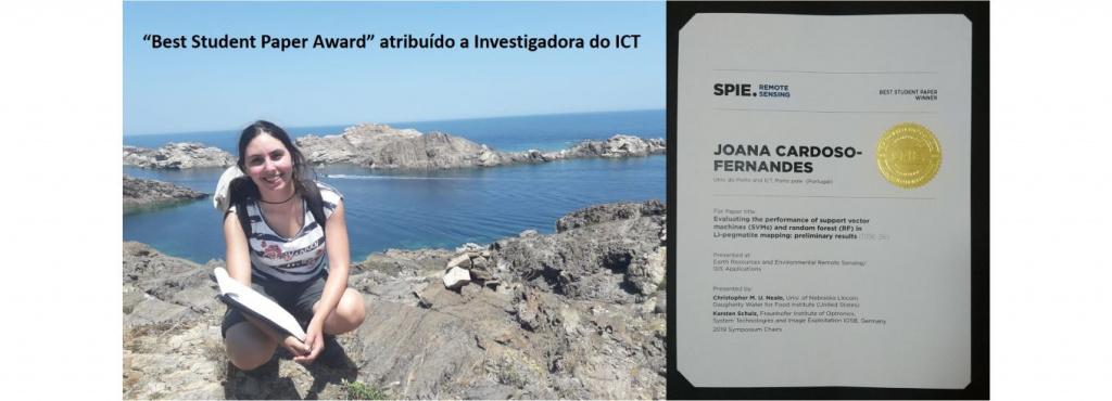 Joana Fernandes, estudante FCUP premiada em França