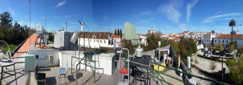 Conheça a estação meteorológica de Évora