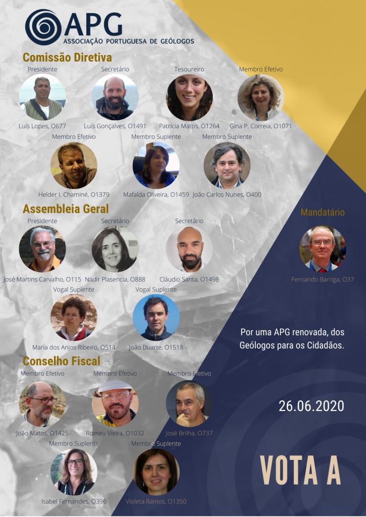 Luís Lopes, investigador do ICT, foi eleito Presidente da Associação Portuguesa de Geólogos