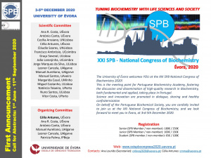 XXI SPB National Congress of Biochemistry 2021