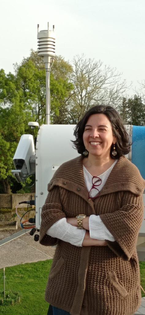 Maria João Costa, investigadora do Instituto Ciências da Terra (ICT) na Conferência Climate Science from Space