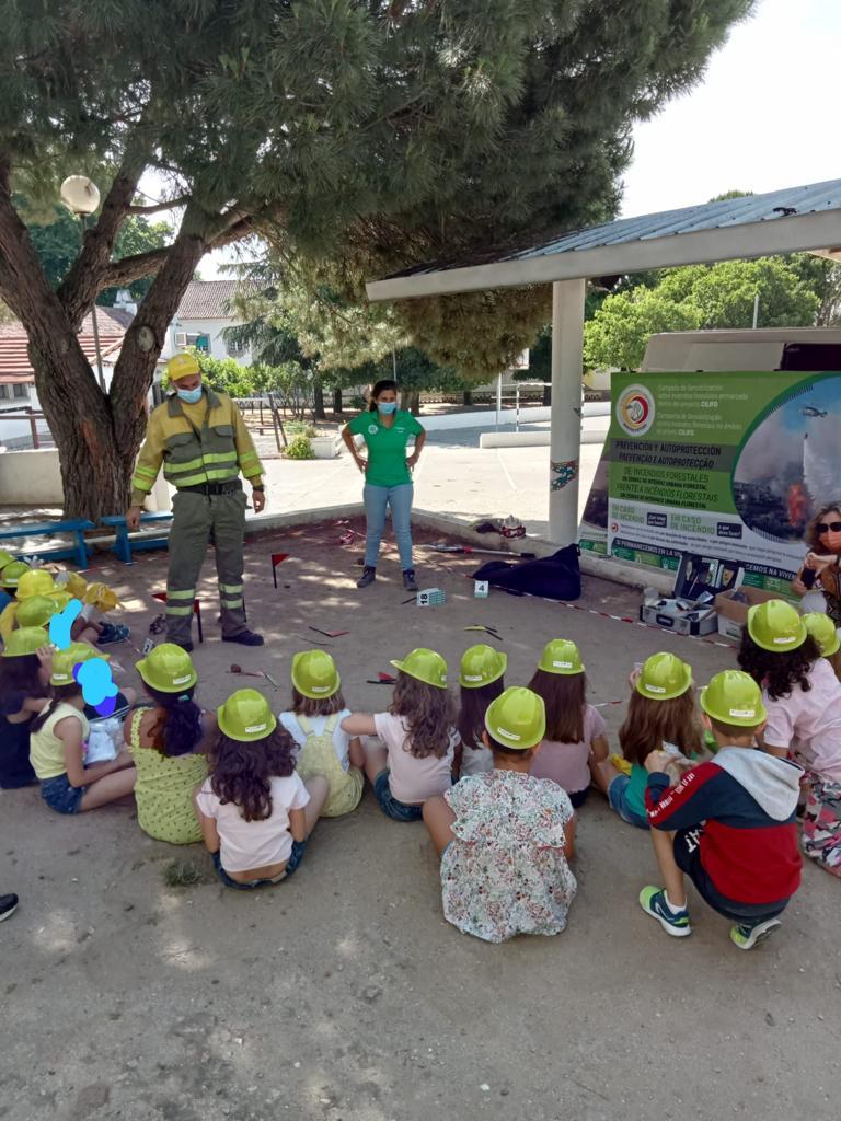 Campanha de sensibilização e prevenção de incêndios florestais nas escolas