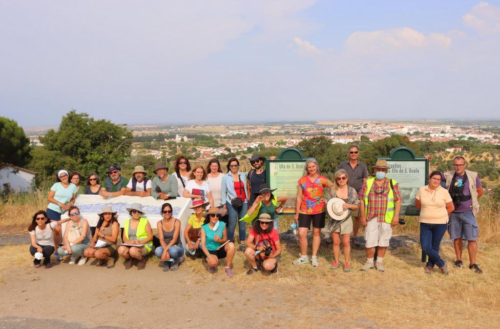 Expedição geológica na região de Évora