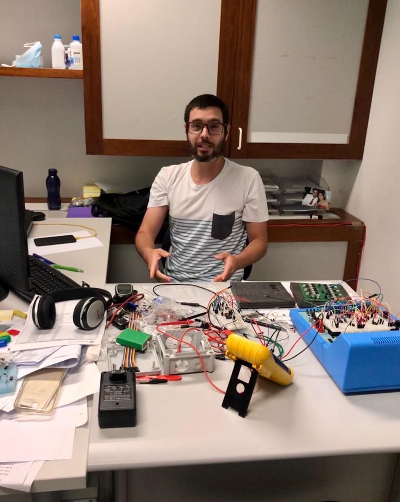 ICT reforça Laboratório de Instrumentação e Controle